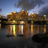 Les Bahamas - la ressource de l'Atlantide - île de paradis Photographie stock libre de droits