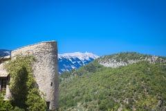 Les Bain Provence France de Montbrun Images stock