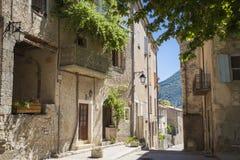 Les Bain Provence France de Montbrun Image libre de droits