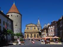 les bains miejsca pestalozzi Szwajcarii yverdon Obraz Royalty Free