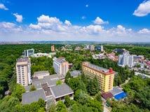 Les bains thermiques de Baile Felix recourt près d'Oradea Roumanie Images stock