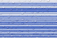 Les baisses de ligne légère et d'eau Photographie stock libre de droits
