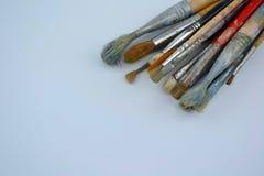 les balais contrôlent des illustrations de construction plus de mon portefeuille de peinture s'il vous plaît Photographie stock