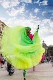 Les ballerines montrent (la Hollande), à l'intérieur de B-FIT 2016 Images libres de droits