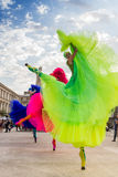 Les ballerines montrent (la Hollande), à l'intérieur de B-FIT 2016 Photographie stock libre de droits