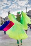 Les ballerines montrent (la Hollande), à l'intérieur de B-FIT 2016 Photographie stock