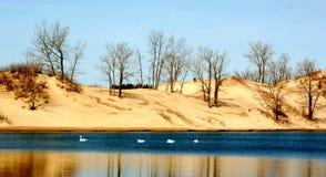 Les bancs de sable Image libre de droits