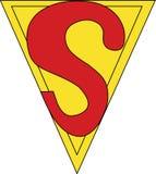 Les bandes dessinées d'action de symbole de Superman S publient l'aucun 7 1938 photos libres de droits