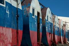 Les barils, Elbrus, Russie Photos libres de droits