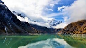 Les barrages de Kaprun dans Zell AM voient, l'Autriche Image stock