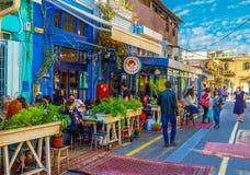 Les barres de salon de vieux Jaffa photographie stock libre de droits