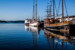 Les bateaux Photos stock