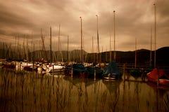 Les bateaux Images stock
