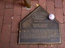 Les battes de baseball de cogneur de Louisville autoguident photo libre de droits