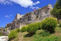 Les Baux castle Royalty Free Stock Images