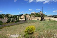 Les Baux castle Stock Image