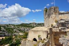 Les Baux castle Royalty Free Stock Image