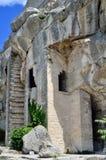 Les Baux castle, France Stock Image