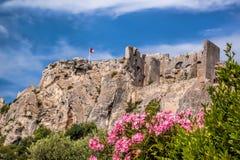 Les Baux-de-Провансаль, замок в Провансали, Франции стоковая фотография