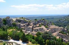 Les Baux de Провансаль (Франция) стоковые изображения rf