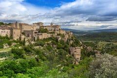 Les Baux DE de Provence Stock Afbeelding