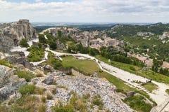 Les Baux de Provence Photo libre de droits