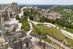 Les Baux de Provence Image libre de droits