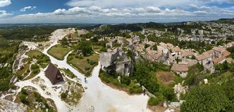Les Baux de Provence Stock Photos
