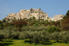 Les-Baux-de-Provence Stock Photography