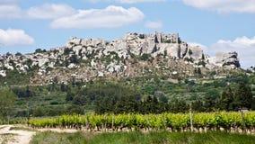 Les Baux de Provence Stock Image
