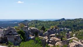 Les Baux de Provence Stock Photo