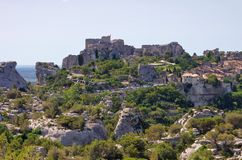 Les Baux-de-Provence Royalty Free Stock Photography