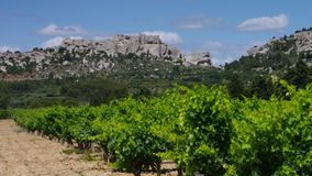 Les Baux-De-Provence stock video