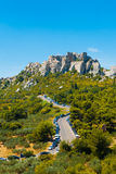 Les Baux de Provence Cliffs Ruins V Royalty Free Stock Photo