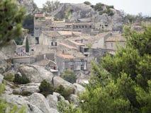 Les Baux-de-Provence, Francia Fotografía de archivo libre de regalías