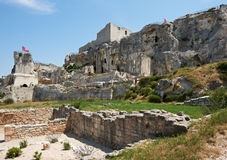 Les Baux de Provence, French Medieval site Royalty Free Stock Images