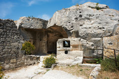 Les Baux de Provence, French Medieval site Stock Photography