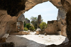 Les Baux de Provence, French Medieval site Royalty Free Stock Photo