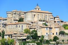 Les Baux de Provence. General view, Alsace, France Stock Photography