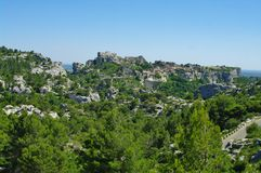Les baux de provence Stock Photography