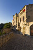 Les Baux-de-Provence in late afternoon sunshine. Les Baux-de-Provence, labelled one of the most beautiful villages of France Stock Photography