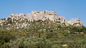 Les Baux de Provence panorama Royalty Free Stock Photography