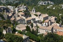 Les Baux de Provence village. Village Les Baux de Provence in South France, region PACA Royalty Free Stock Photo