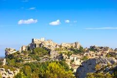 Les Baux de Provence village and castle. France, Europe. Royalty Free Stock Images