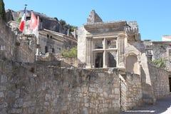 Les Baux-de-Provence village in France Stock Image