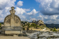 Les Baux de Provence village, France Stock Photo