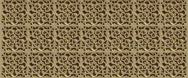 Les beaux murs stuccoed de Ségovie, Espagne - BANNIÈRE 3a Image libre de droits