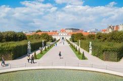 Les belles architectures viennoises image stock