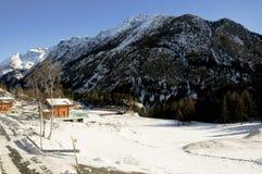 Les belles montagnes autour du bionaz dans le Val d'Aoste, Italie photo libre de droits