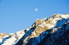 Les belles montagnes autour du bionaz dans le Val d'Aoste, Italie Images libres de droits